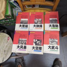 非常档案丛书(全六册:大抉择;大交接;大风暴;大浩劫;大荒诞;大武斗)
