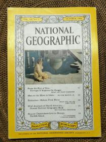 美国国家地理杂志(英文版)(The national geographic magazine)1960 VOL.118, NO.4