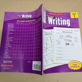 Scholastic Success with Writing: Grade 1 学乐助你成功 写作:等级1