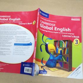 Cambridge Global English Learner`s Book 3 剑桥全球英语学习手册3 附1CD