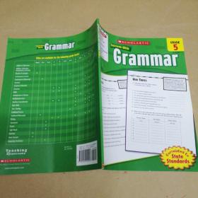 Scholastic Success with Grammar: Grade 5 学乐必赢阅读:5年级语法