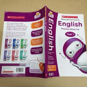 National Curriculum English Practice Book for Year1 一年级国家课程英语练习册