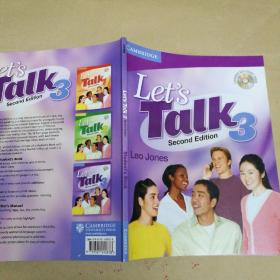 Let's Talk Level 3 Student's Book with Self-study Audio CD 让我们说第三级学生自学用书附CD