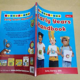 Letterland Early Years Handbook Age3+ 莱特兰早教手册3岁+