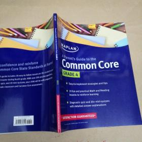 Kaplan Parent's Guide to the Common Core: 4th Grade 卡普兰家长指南:4