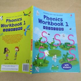 Phonics Workbook 1  Usborne Very First Reading 厄斯本语音练习册1初读