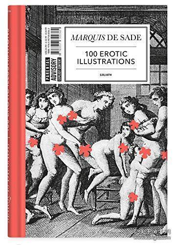 Marquis De Sade: 100 Erotic Illustrations: English Edition