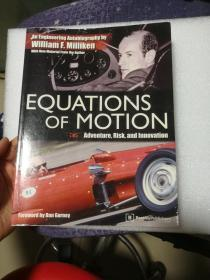 现货 Equations of Motion: Adventure, Risk and Innovation 英文原版  William F. Milliken  运动方程:冒险,风险和创新