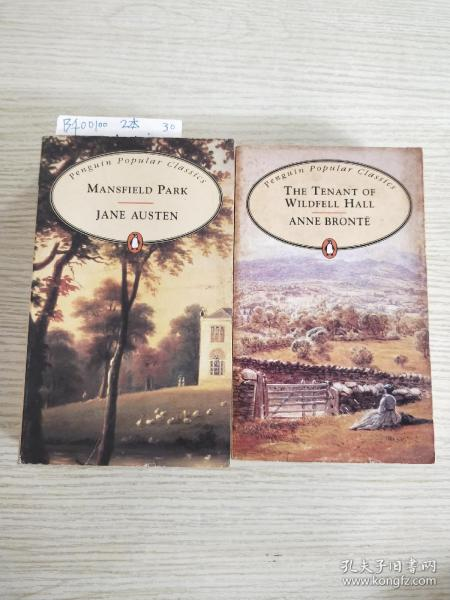 Mansfield Park、THE TENANT OF WILDFELL HALL ANNE BRONTE(两本合售)