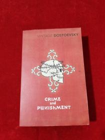 VINTAGE DOSTOEVSKY CRIME and PUNISHMENT 32开