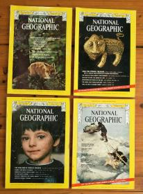 美国国家地理杂志(英文版)(The national geographic magazine)1974VOL.145,NO.1.2.3.4.. 1974VOL.146,NO.3.4.5.(七册合售)