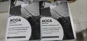 正版二手 Foundations in Accountancy/ACCA  Financial Accounting (FFA/FA)  Interactive Text  For exams from 1 September 2019 to 31 August 2020  9781509724178