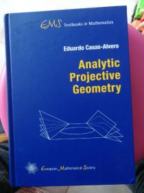 现货 Analytic Projective Geometry (EMS Textbooks in Mathematics)  英文原版  解析射影几何   射影几何
