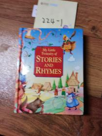 my litter treasury of stories and rhymes