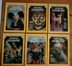 美国国家地理杂志(英文版)(The national geographic magazine)1978VOL.153,NO1.2.3.4.5..6. 1978VOL.154,NO.1.2.3.4.5.6.(十二册合售)