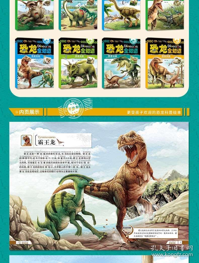 大恐龙简笔画