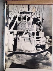 紅色收藏:黑白老照片 二戰日本《軍艦》一大張!尺寸:26.5厘米*20厘米