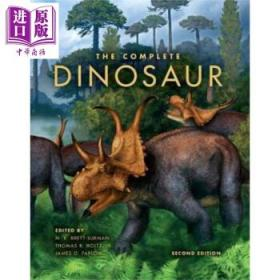The Complete Dinosaur (Life of the Past) 英文原版 恐龙全书-