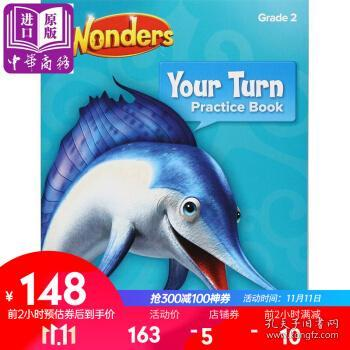 Reading Wonders Your Turn Practice Book, Grade 2教材-