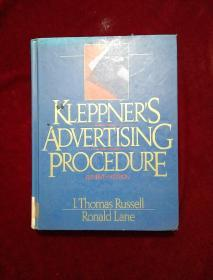 kleppner s advertising procedure【外文原版】