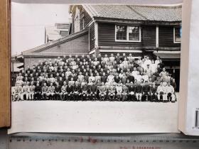 紅色收藏:黑白老照片《二戰日本合影》一大張!尺寸:26厘米*20厘米