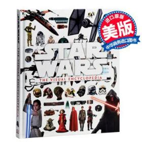 星球大战图解百科英文原版Star Wars:The Visual Encycloped-
