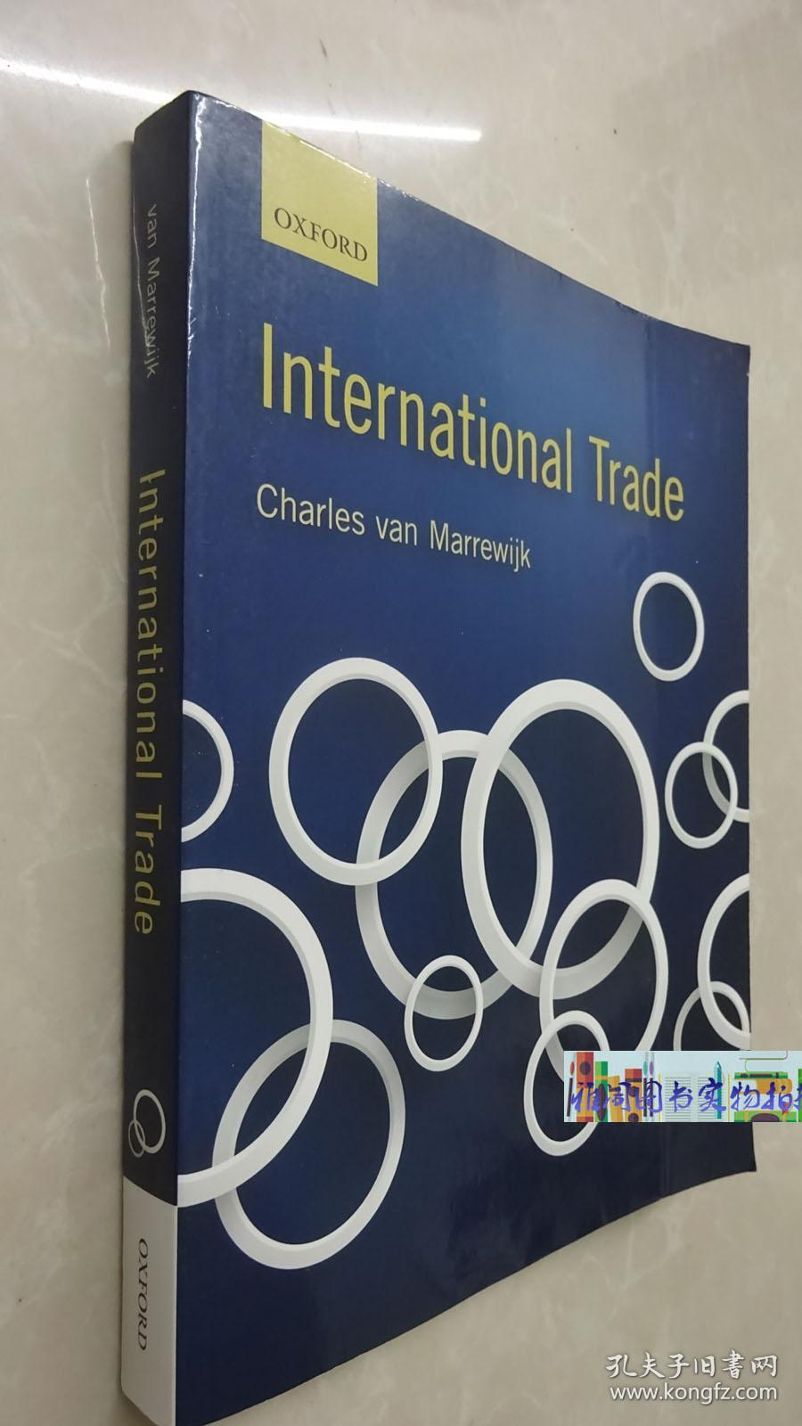 International Trade by Van Marrewijk  正版 9780198753759