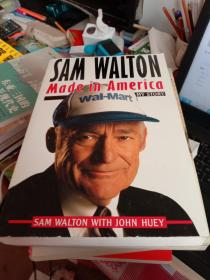 英文原版 Sam Walton: Made In America