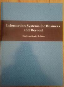 Information Systems for Business and Beyond (详见图)