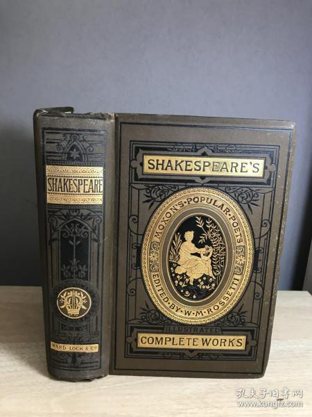 The Complete Works of William Shakespeare 三边刷金 插图本 21*14.5cm