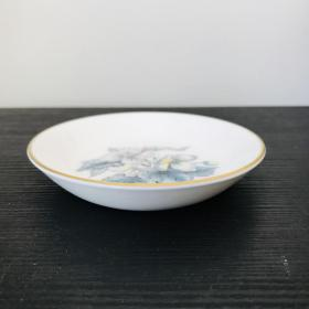 Royal Worcester 碟子 英国制 10cm 没用过