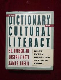 THE DICTIONARY OF CULTURAL LITERACY (16开精装厚册)