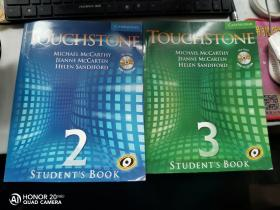 Touchstone Level 2 Touchstone Level 3 [With CDROM and CD]  两本合售 都附光盘