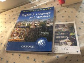 English A : Language and Literature   course companion  英语A:语言与文学 (英文原版教材美国原版教材)