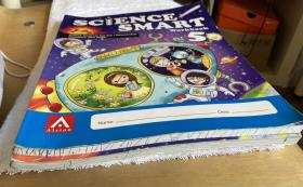 Science Smart 5 Textbook、Work book 共2册