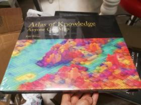 现货 Atlas of Knowledge: Anyone Can Map (The MIT Press)  英文原版 知识图谱 可视地球