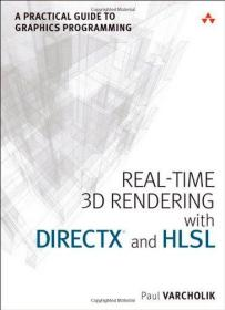预订2周到货  Real-Time 3D Rendering with DirectX and HLSL: A Practical Guide to Graphics Programming (Game Design and Development)  英文原版  实时计算机图形学