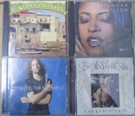 HOLIDAY IN ITALY CASSANDRA WILSON ENYA KENNY G  首版 旧版 港版 原版 绝版 CD