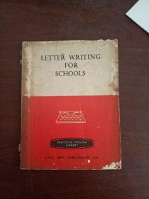 LETTER WRITING FOR SCHOOLS