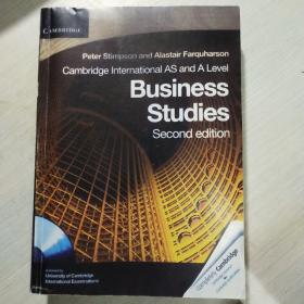 CambridgeInternationalASandALevelBusinessStudies[WithCDROM]