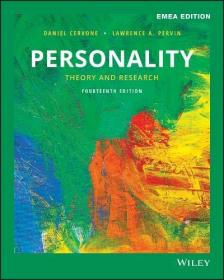 预订2周到货  Personality: Theory and Research   英文原版 人格心理学   人格科学  人格手册:理论与研究  L.A.珀文 Lawrence A.Pervin