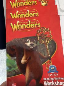Wonders Reading Writing G1-U1 U2 U3 三本一套