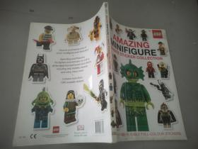 Lego Amazing Minifigure Ultimate Sticker Collection.