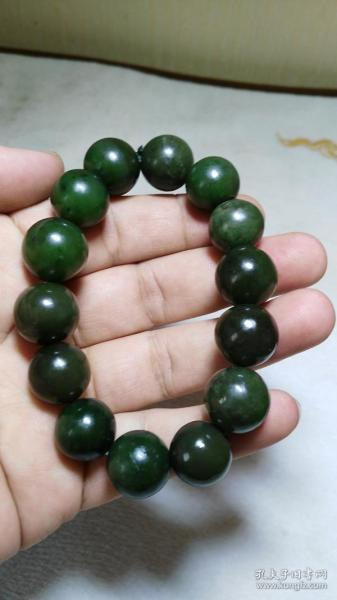 The old goods received from the countryside [usage for money] Hetian jade bracelets, 85 grams