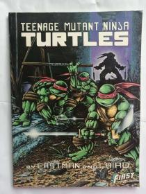TEENARGE MUTANT NINJA TURTLES 忍者神龟漫画3册全
