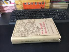 NEW WNGLAND LITERARY CULTURE:From revolution through renaissance (LAWRENCE BUELL)新文格兰德文学文化:从革命到文艺复兴(劳伦斯·贝尔)