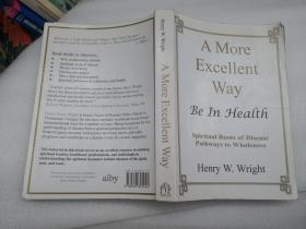 【外文书籍】A More Excellent Way Be In Health