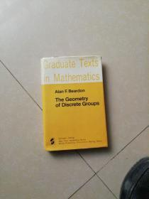 GRADUATE TEXTS IN MATHEMATICS  BEARDON   THE GEOMETRY OF DISCRETE GROUPS