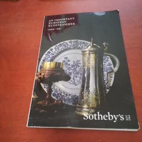 Sotheby`s AN IMPORTANT EUROPEAN KUNSTKAMMER 2020【详情请看图】