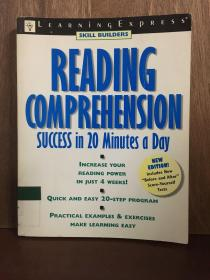Reading Comprehension Success in 20 Minutes a Day (Skill Builders (Learningexpress)